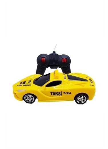 Duman Oyuncak 1:24 Uzaktan Kumandalı Pilli Taksi Renkli